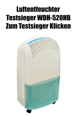Luftentfeuchter Testsieger